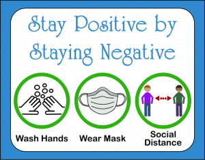 Stay positive by staying negative