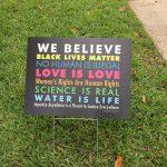 We believe .... sign